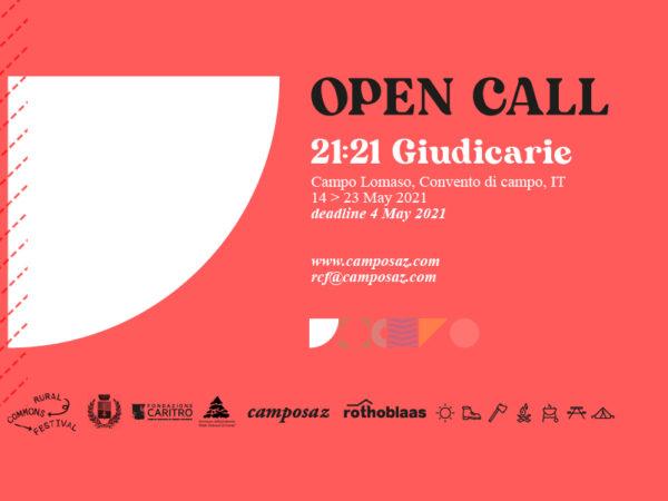 <span>21:21 Giudicarie – OPEN CALL</span><i>→</i>