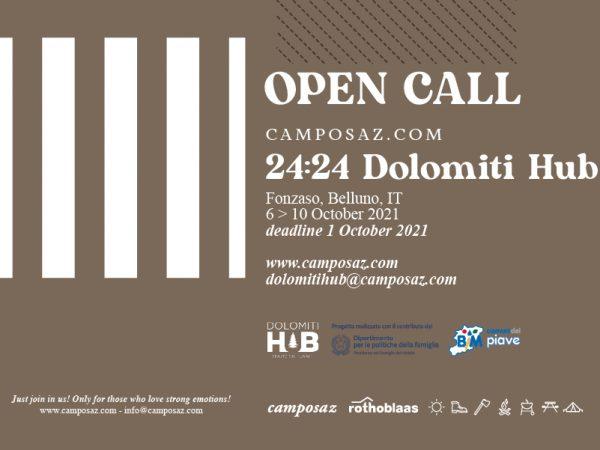 <span>24:24 Dolomiti Hub – OPEN CALL</span><i>→</i>